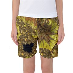 Special Fractal 35cp Women s Basketball Shorts by ImpressiveMoments