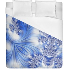 Special Fractal 17 Blue Duvet Cover Single Side (double Size) by ImpressiveMoments
