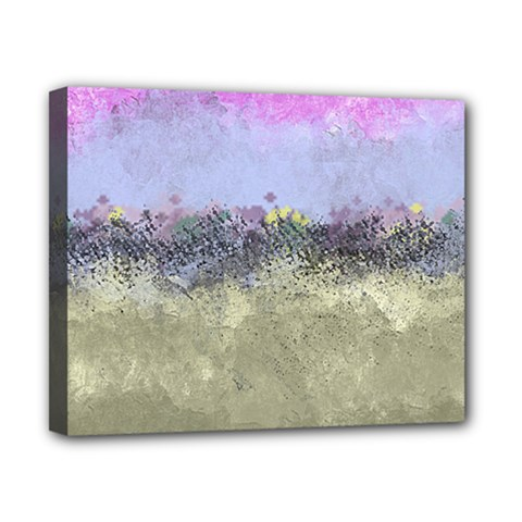 Abstract Garden In Pastel Colors Canvas 10  X 8  by theunrulyartist