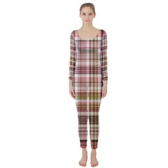 Plaid, Candy Long Sleeve Catsuit by ImpressiveMoments