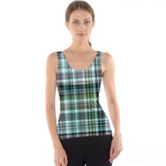Plaid Ocean Tank Tops by ImpressiveMoments