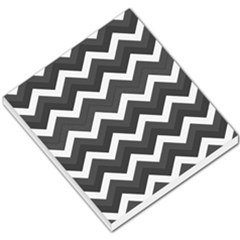 Chevron Dark Gray Small Memo Pads by ImpressiveMoments
