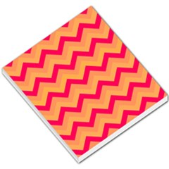 Chevron Peach Small Memo Pads