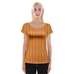 Cute Seamless Tile Pattern Gifts Women s Cap Sleeve Top by creativemom