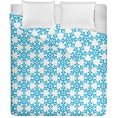Cute Seamless Tile Pattern Gifts Duvet Cover (double Size) by creativemom