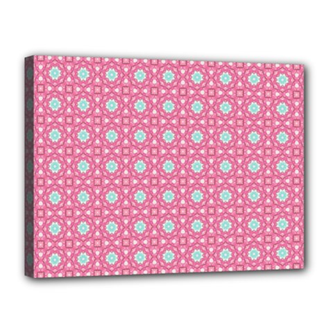 Cute Seamless Tile Pattern Gifts Canvas 16  X 12  by creativemom