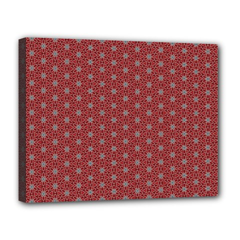 Cute Seamless Tile Pattern Gifts Canvas 14  X 11  by creativemom