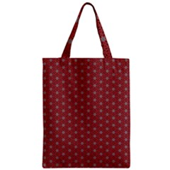 Cute Seamless Tile Pattern Gifts Zipper Classic Tote Bags by creativemom