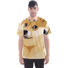 Dogecoin Men s Sport Mesh Tees
