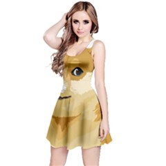 Dogecoin Reversible Sleeveless Dresses by dogestore