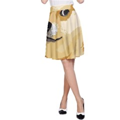 Dogecoin A Line Skirts by dogestore