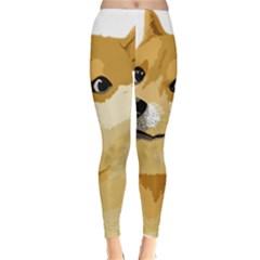 Dogecoin Winter Leggings by dogestore