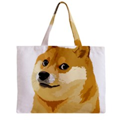 Dogecoin Zipper Tiny Tote Bags