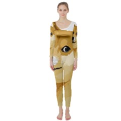 Dogecoin Long Sleeve Catsuit by dogestore