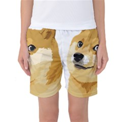 Dogecoin Women s Basketball Shorts by dogestore