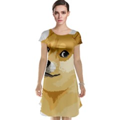 Dogecoin Cap Sleeve Nightdresses by dogestore