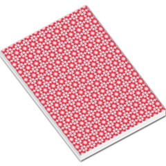 Cute Seamless Tile Pattern Gifts Large Memo Pads by creativemom