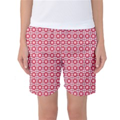 Cute Seamless Tile Pattern Gifts Women s Basketball Shorts by creativemom
