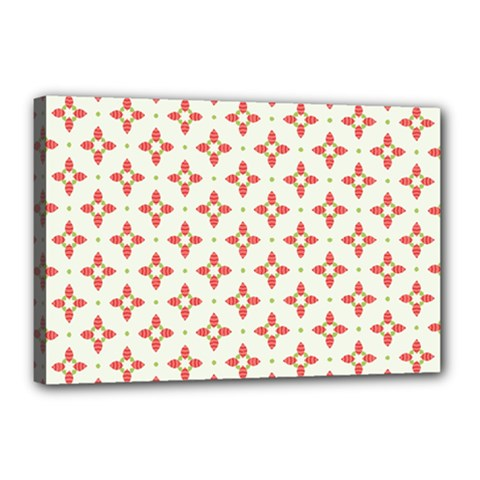 Cute Seamless Tile Pattern Gifts Canvas 18  X 12  by creativemom