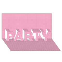 Cute Seamless Tile Pattern Gifts Party 3d Greeting Card (8x4)  by creativemom
