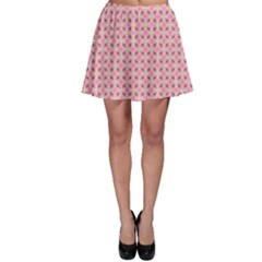 Cute Seamless Tile Pattern Gifts Skater Skirts by creativemom