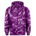 Gorgeous Roses,purple  Men s Zipper Hoodies View1