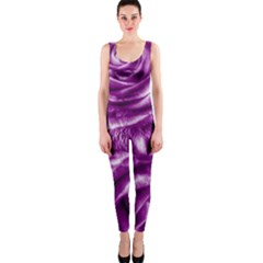 Gorgeous Roses,purple  Onepiece Catsuits