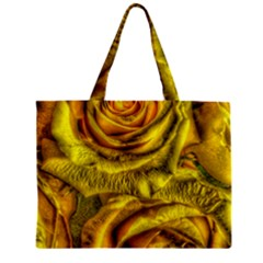 Gorgeous Roses, Yellow  Zipper Tiny Tote Bags