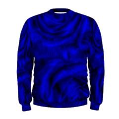 Gorgeous Roses,deep Blue Men s Sweatshirts