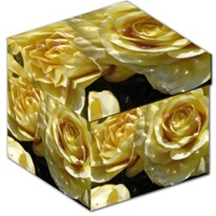 Yellow Roses Storage Stool 12