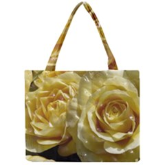 Yellow Roses Tiny Tote Bags