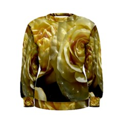 Yellow Roses Women s Sweatshirts by MoreColorsinLife