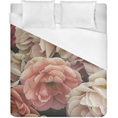 Great Garden Roses, Vintage Look  Duvet Cover Single Side (double Size)