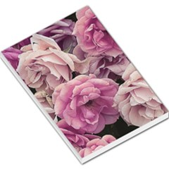 Great Garden Roses Pink Large Memo Pads