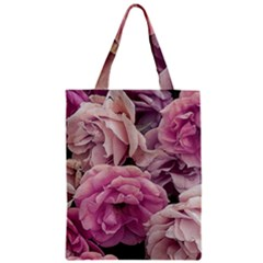 Great Garden Roses Pink Classic Tote Bags