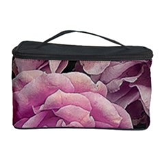Great Garden Roses Pink Cosmetic Storage Cases by MoreColorsinLife