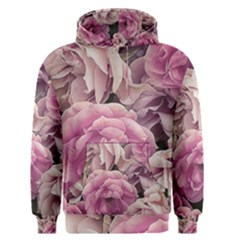 Great Garden Roses Pink Men s Pullover Hoodies