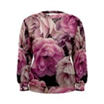 Great Garden Roses Pink Women s Sweatshirts