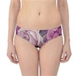 Great Garden Roses Pink Hipster Bikini Bottoms