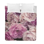 Great Garden Roses Pink Duvet Cover (Twin Size)