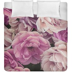 Great Garden Roses Pink Duvet Cover (king Size)