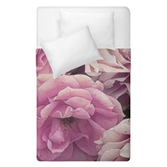 Great Garden Roses Pink Duvet Cover (single Size)