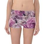 Great Garden Roses Pink Reversible Boyleg Bikini Bottoms