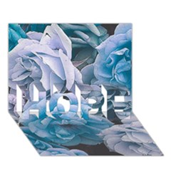 Great Garden Roses Blue Hope 3d Greeting Card (7x5)