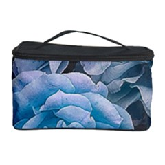 Great Garden Roses Blue Cosmetic Storage Cases