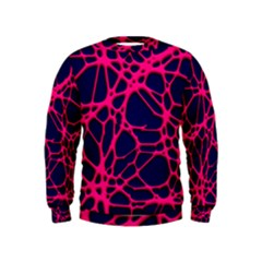 Hot Web Pink Boys  Sweatshirts