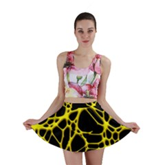 Hot Web Yellow Mini Skirts by ImpressiveMoments