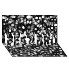 Chaos Decay BEST BRO 3D Greeting Card (8x4)