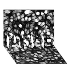 Chaos Decay Hope 3d Greeting Card (7x5)