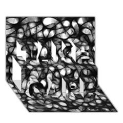 Chaos Decay Take Care 3d Greeting Card (7x5)